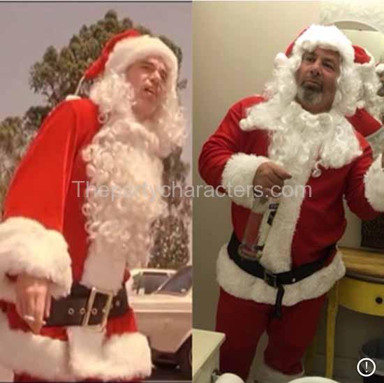 Hire bad santa for christmas