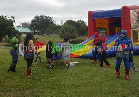 superhero kids party