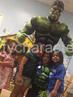 hulk superhero party