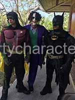 hire a party character for a kids birthday party