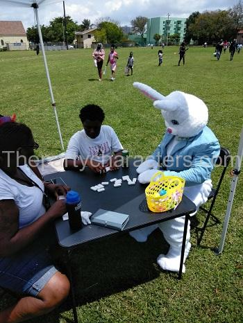 Easter Bunny Game Character