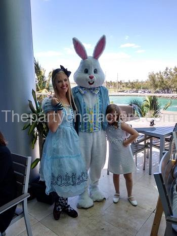 Easter Bunny Character Hire for party