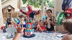 Hire Spiderman character kids party
