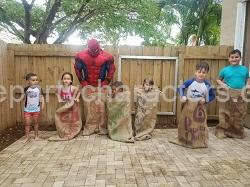 Spiderman kids party game