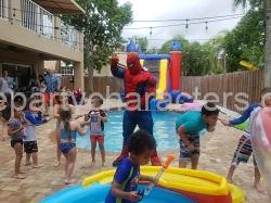 Spiderman kids party games
