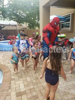 Spiderman kids party hire