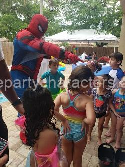 Spiderman kids party image