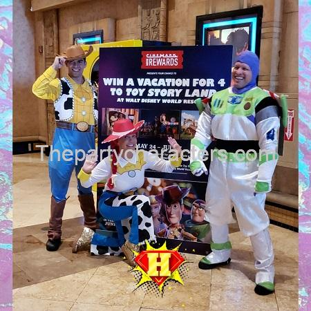 Toy Story Character Kids Party