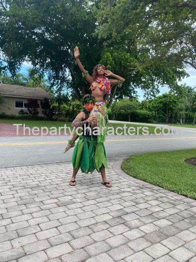 hula dancers for rent